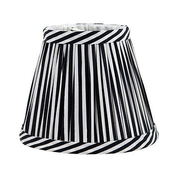 Pleated Empire Shade | Eichholtz Vasari - Black & White