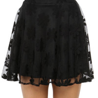Papaya Clothing Online :: LACY SKATER SKIRTS