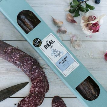 Sloe And Garlic Wild Venison Salami