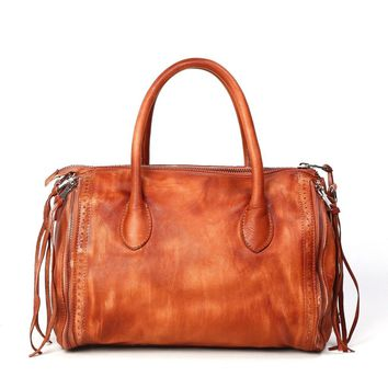 Sunny Hill Satchel | Genuine Leather Handbags Made in USA