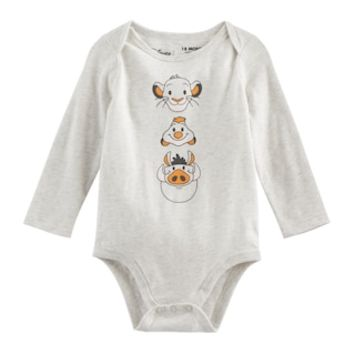 Disney's The Lion King Baby Boy Simba, Timon & Pumba Bodysuit by Jumping Beans® | null