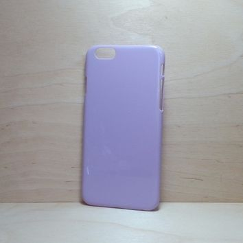 For Apple iPhone 6 (4.7 inches) Light Lavender Hard Plastic Case
