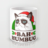 Bah Humbug Kitty Mug by LookHUMAN