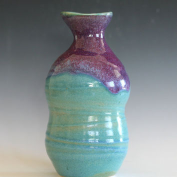 Ceramic Vase, Pottery Vase, ceramics and pottery, decorative vase, handmade vase by Kazem Arshi