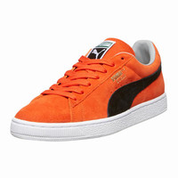 SUEDE TRAINERS BY PUMA IN ORANGE