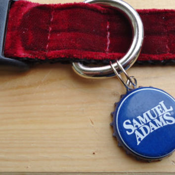 Bottle Cap ID Tags Recycled for Pet Collars Suitcases or BackPacks