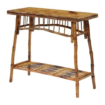 Rattan Occasional Console Table
