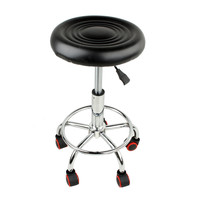Work Stool Height Adjustable Swivel Chair With Wheels