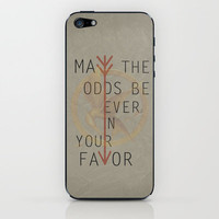 The Hunger Games Poster 02 iPhone & iPod Skin by Misery | Society6