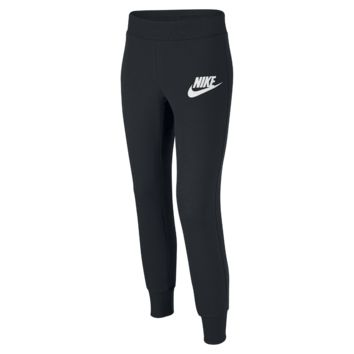 Nike N40 Semi-Brushed Cuffed Girls' Sweatpants
