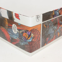 Comic Book Wallet// Red Hood (Jason Todd) vs a Monitor
