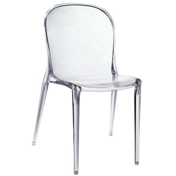 Scape Dining Chair, Clear