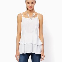 Embroidered Ellie Cami   Fashion Apparel and Clothing – Shirts and Tops – Modern Americana   charming charlie
