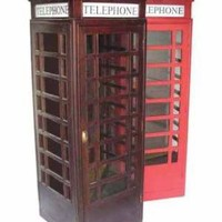 Victorian trading Co. - www.victoriantradingco.com - Londons Calling Telephone Booth