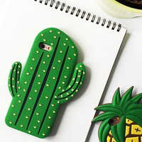 3D Cactus iPhone Case
