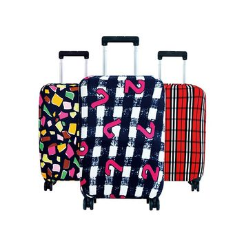 Travel on Road Luggage Cover Protective Suitcase cover Trolley
