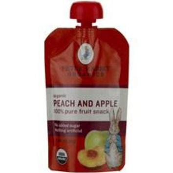 Peter Rabbit Organics Peach & Apple Fruit Snacks (10x4 Oz)