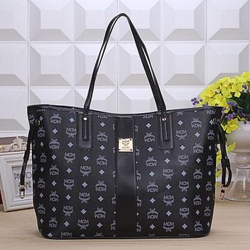 MCM Women Shopping Leather Handbag Tote Satchel Shoulder Bag H-YJBD-2H