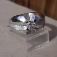 Sterling Ring vintage Clark & Coombs gents