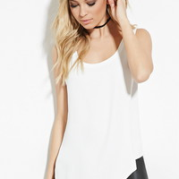 Asymmetrical Hem Top | Forever 21 - 2000151413
