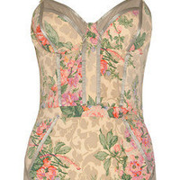 Zimmermann|Devoted floral-print swimsuit|NET-A-PORTER.COM