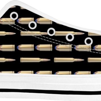 Bullets Shoes White/Black Low Tops