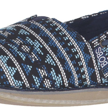 BOBS from Skechers Women's Chill Sunsetters Flat Navy/Multi 6 B(M) US