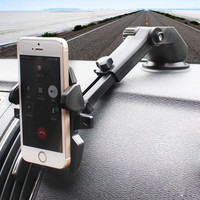 Mount with Magnetic One Step Mounting Technology - Best Cell Phone Holder for Your Car - Compatible with All Phones