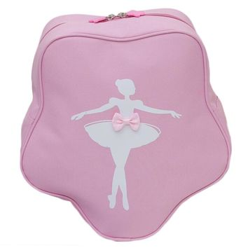 New Fashion Children Dance Bag Girls Princess Cute Ballet Pink Backpack Care Package with bow