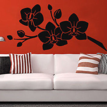 Wall Decal Sakura Flower Orchidea Beautiful Blossom Sakura Cherry Branch C199