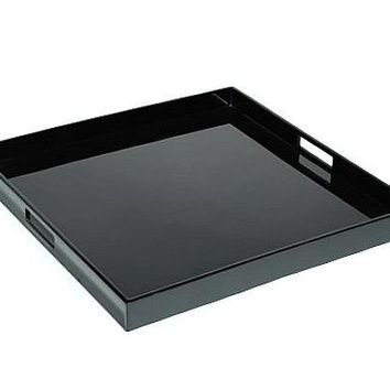 Black Lacquer Serving Tray
