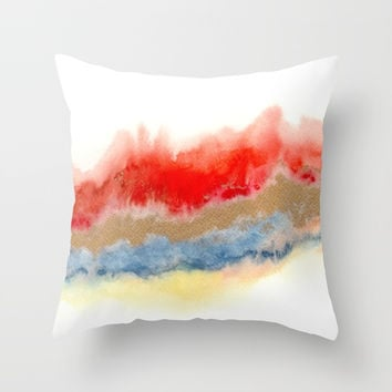 Minimal Expressions 02 Throw Pillow by Marco Gonzalez