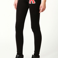 Lucy High Waisted Leggings With Applique
