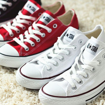 Converse All Star Sneakers canvas shoes for Unisex sports shoes low-top f1c5864d97