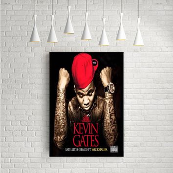 KEVIN GATES SATELITES ARTWORK POSTERS