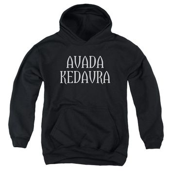 Harry Potter - Avada Kedavra Youth Pull Over Hoodie
