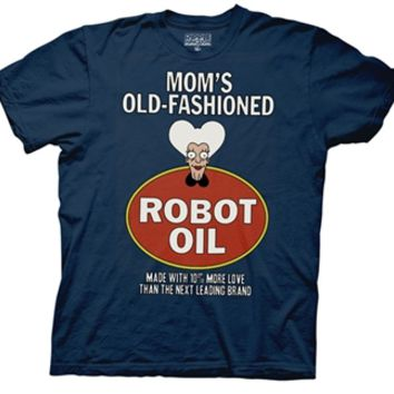 Futurama Mom's Old Fashioned Robot Oil T-Shirt