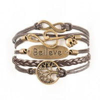 Infinity, Music Note with Skull, Believe, Tree Promo