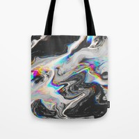 CONFUSION IN HER EYES THAT SAYS IT ALL Tote Bag by malachita