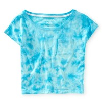 Cropped Tie-Dye Boxy Tee
