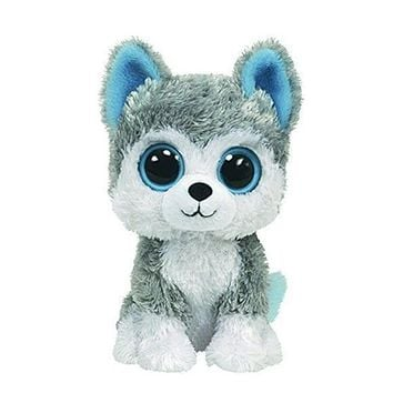 America TY Big eyes husky 15cm Plush toy Cute toy dog doll beanie series kids toys