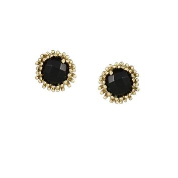 Carly Stud Earrings in Black - Kendra Scott Jewelry