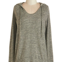 Mid-length Long Sleeve Hoodie Started in the Autumn Top