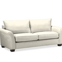 PB Comfort Roll Upholstered Knife-Edge Cushion Sofa