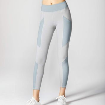Michi Aura Pocket Legging - Angelite Blue