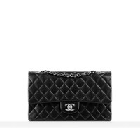 Small classic flap bag in quilted... - CHANEL