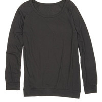 Libby Banded Bottom Long-Sleeve