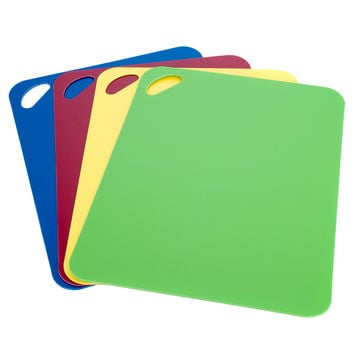 Miu 2 mm Thick Flexible Cutting Board (Set of 4) | Overstock.com