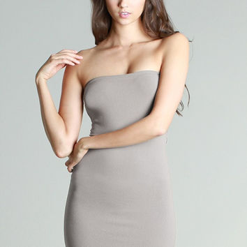 Spandex Mini Dress
