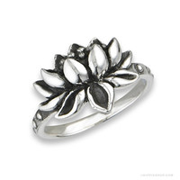 Lotus Love  Ring